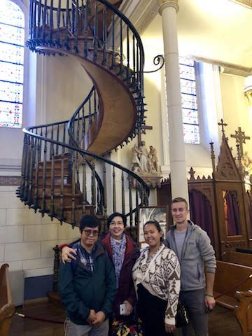 The Miracle Stairway of Loretto