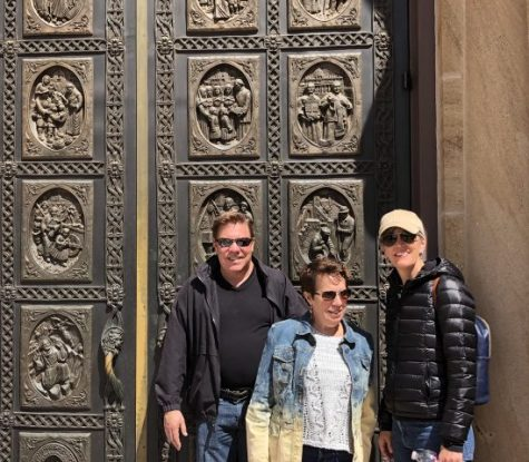 Group at Cathedral doors