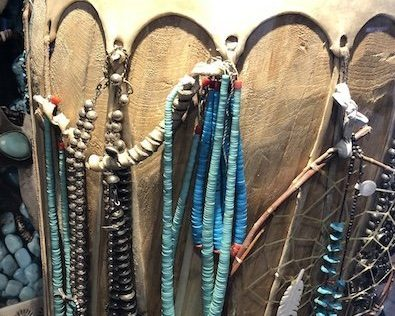 Hand crafted Native Necklaces.