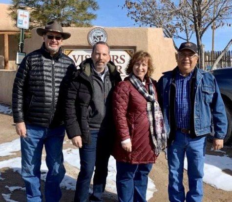 Tour Group at a Pueblo