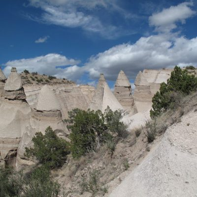 Hiking in Tent Rock